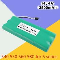 1pcs Ecovacs Deebot Vacuum Battery 3500mAh 14 4V For Ecovacs Deebot D54 Deepoo D56 D58 Deepoo
