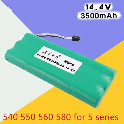 1pcs Ecovacs deebot Vacuum Battery 3500mAh 14.4V for Ecovacs Deebot D54 Deepoo D56 D58 Deepoo 540 550 560 570 580 Free Shipping