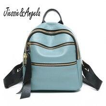 Jiessie и Анжела Новый Модные женские туфли рюкзак для девушки 2017 рюкзак Mochila Feminina женский рюкзак для девочек-подростков
