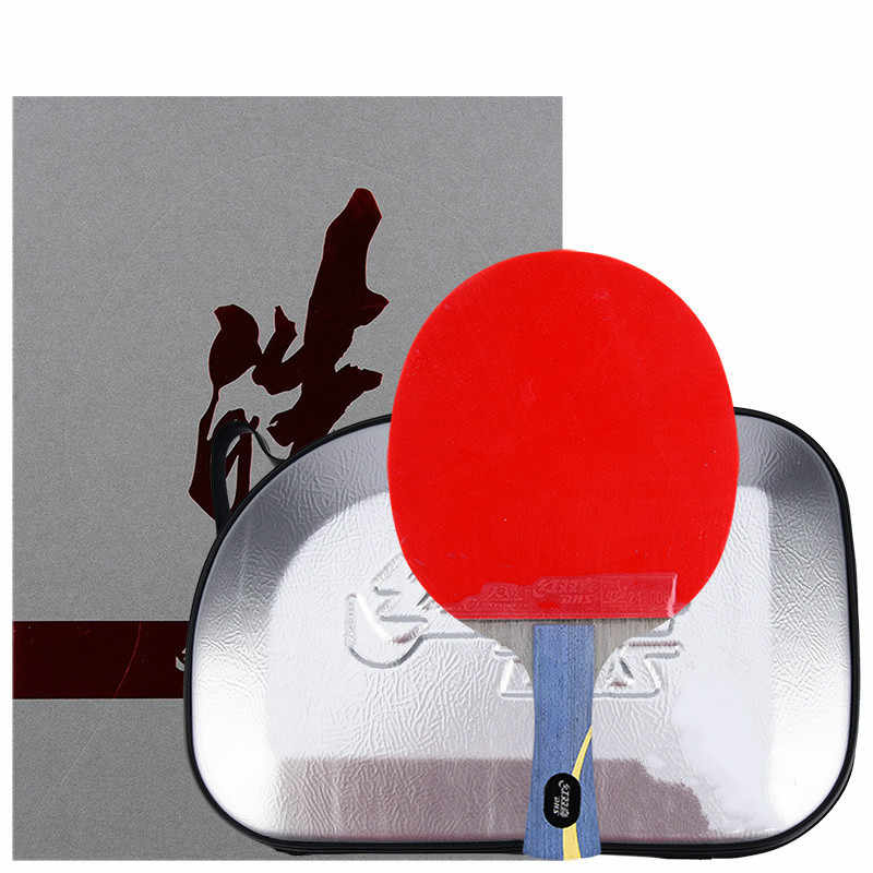 Original Dhs Hurricane Wang Hao Haol/haos Table Tennis Racket Arylate Carbon Alc Skyline3 Hurricane Professional Ping Pong Bat