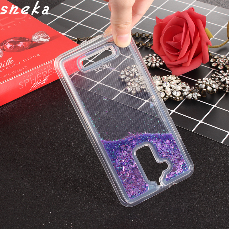 For Asus Zenfone 3 Max ZC520TL case silicone TPU Dynamic Liquid Glitter Sand Quicksand Star Cases Crystal Clear phone Back Cover