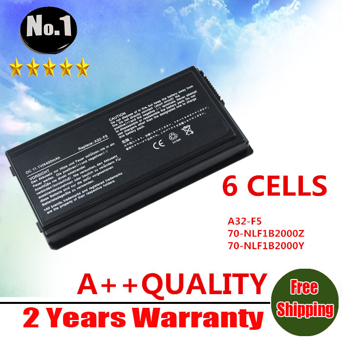 Wholesale New 6 cells laptop battery For Asus F5 F5N F5R X50C X50M X50N X50R X50RL X50 X50V Series  A32-F5  Free shipping wholesale new 6 cells laptop battery for dell latitude d620 d630 d630c d631 series 0gd775 0gd787 0jd605 0jd606 free shipping