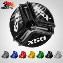 For Suzuki GSX 1250 F/SA/ABS GSX 1300BK 1400 M20*2.5 Aluminum Motorcycle Accessories Engine Oil Fill Cup Moto Oil Tank Cap Cover for ktm 250xc f 350exc f 450xc f 505xc f motorcycle engine oil fuel filter tank cap cover moto engine oil filter cover cap
