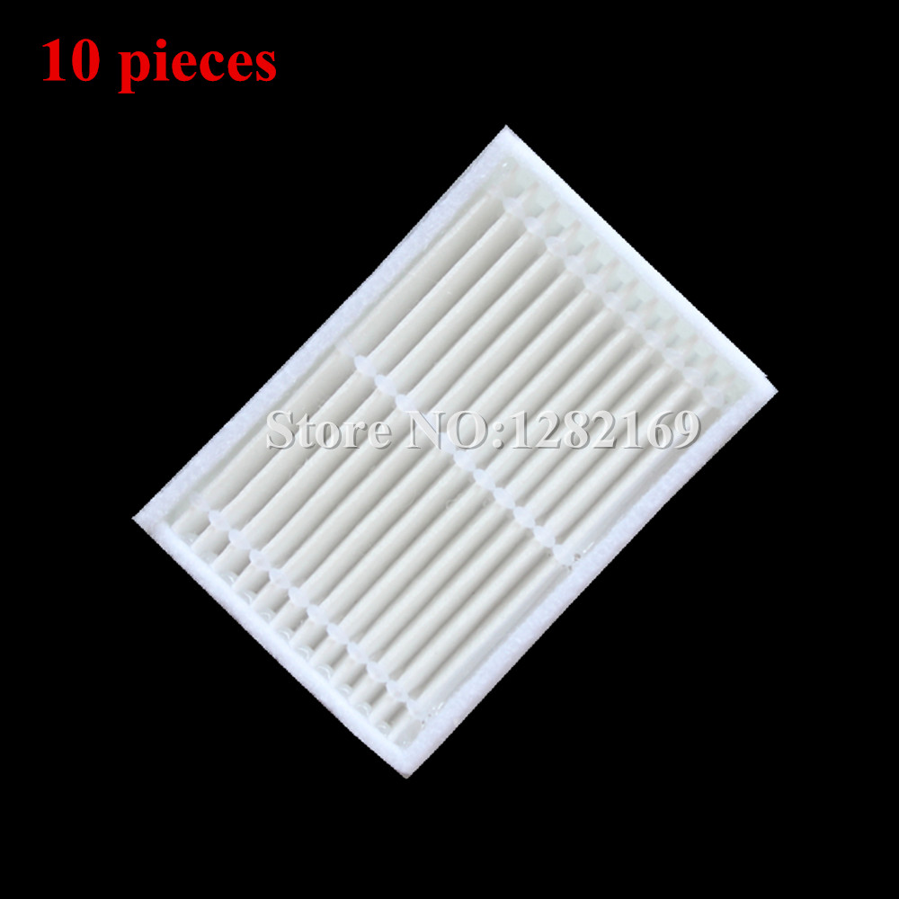 10 pieces/lot Robots Vacuum Cleaner Parts HEPA Filter replacement for Kitfort KT504 Panda X600 Robotic 5 pieces lot ariete robotic cleaner hepa filter replacement for ariete briciola 2711 2712 2713 easyhome 2717