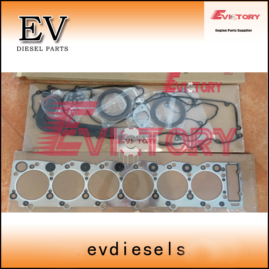 For Isuzu 6SD1 6SD1T 6SD1 TC full engine overhaul gasket kit -in Pistons,  Rings, Rods & Parts from Automobiles & Motorcycles on Aliexpress.com |  Alibaba ...