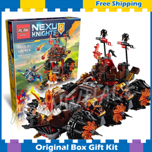 544pcs New 14018 Knights General Magmar's Siege Machine of Doom building blocks toys Nexus Compatible With Lego