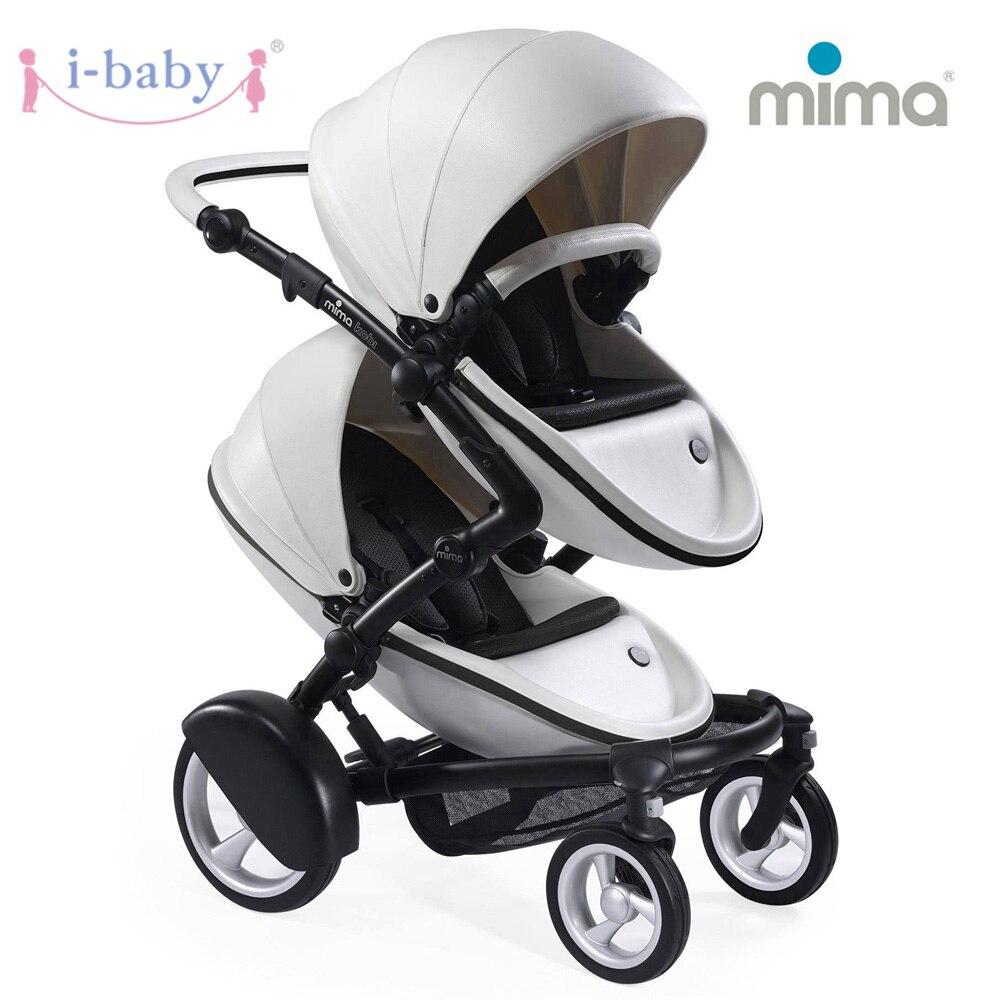 I-baby Kobi Twin bébé poussette Double poussette paysage Portable bébé landau léger poussettes Kinderwagen