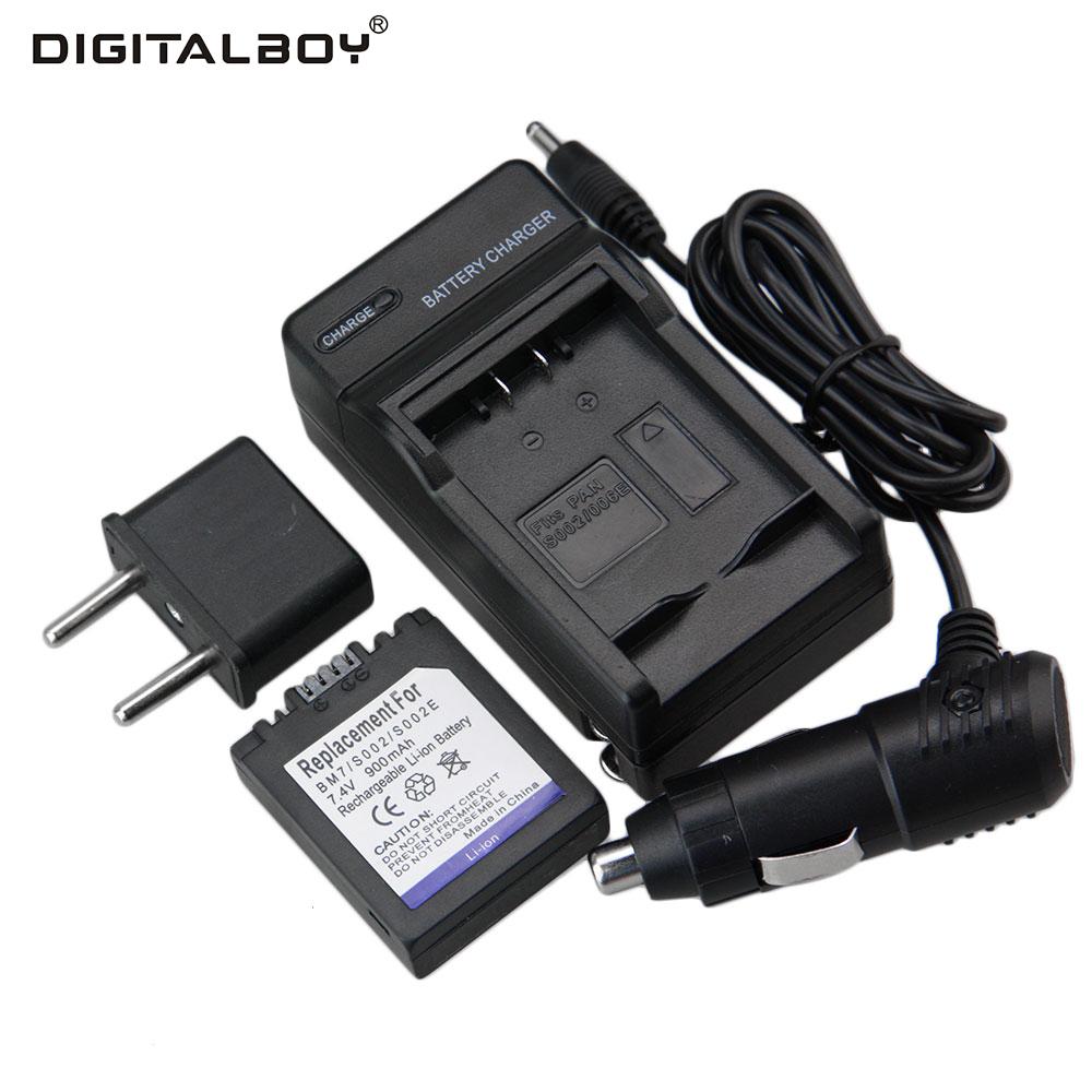 Cargador cargador de coche para Panasonic Lumix dmc-fz20e