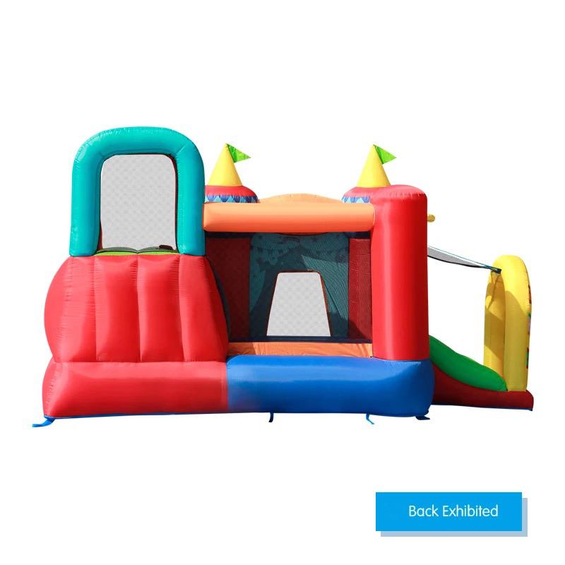 HTB1jeOzPFXXXXXjXXXXq6xXFXXXf - Mr. Fun Bouncy Castle Inflatable Bounce House Double Slide For Kids with Blower