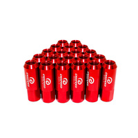 20 Pcs 60mm long Forge Lug Nut Car Tire Modified Lightweight Nut M14X1.5 Car Styling