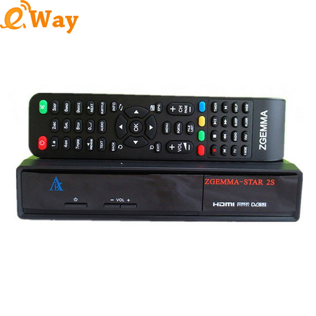US $410 52 |DHL 5pcs/lot Zgemma star 2S+DVB S2 Twin Tuner MIPS Processor  set top box support IPTV Server Satellite Receiver tv box-in Satellite TV
