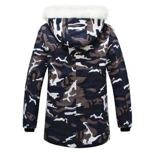 Image 3 - 2020 New Brand Winter Men Thick Camouflage Jacket Mens Parka coat Male Hooded Parkas Jacket Men Military Overcoat