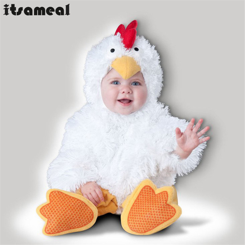 Absolutly Adorable Infant Deluxe chick Halloween Costume Perfect Little Baby Outfit Comfy And Cozy Gifts