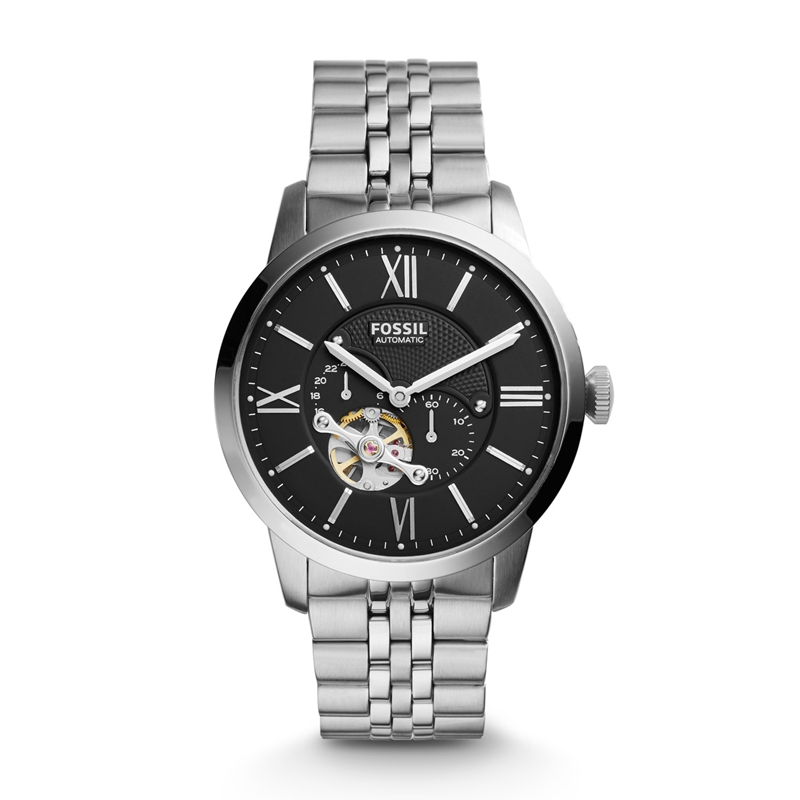 FOSSIL Townsman Automatic Watch Luxury Men Stainless Steel Watch ME3107 in Mechanical Watches from Watches