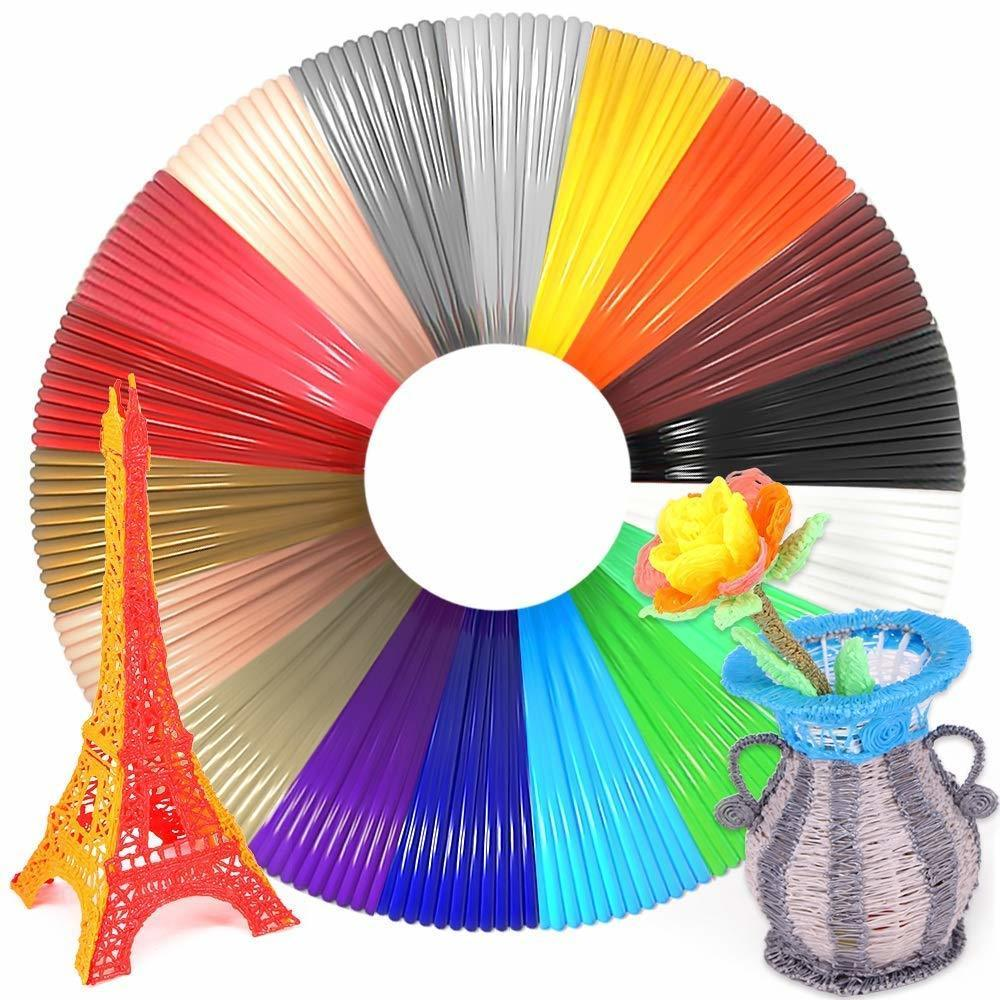 10 Meter PLA Filament for 3D Pen Used as 3D Drawing Materials