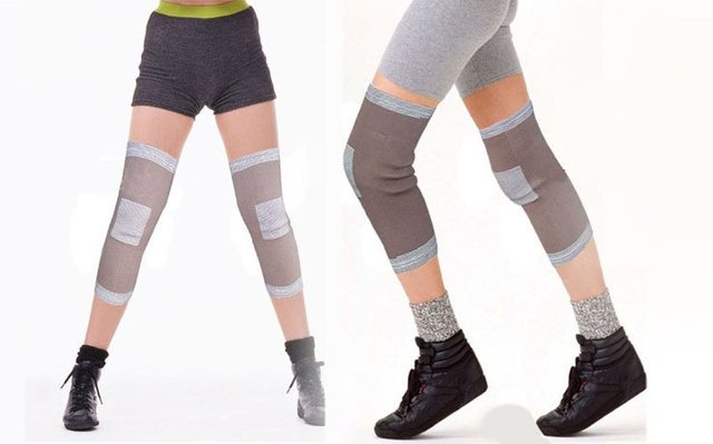 5pcs/lot Magnetic Athletic Knee Wrap tourmaline auto-heating magnetic Knee Wrap Health Therapy Knee Wrap +free shipping
