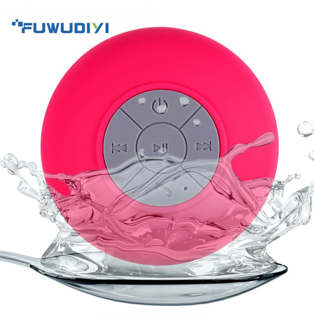 Hetngsyou Водонепроницаемый Ванная комната Душ Радио Bluetooth Динамик громкой связи Surround стерео сабвуфер Handfree Портативный Колонки