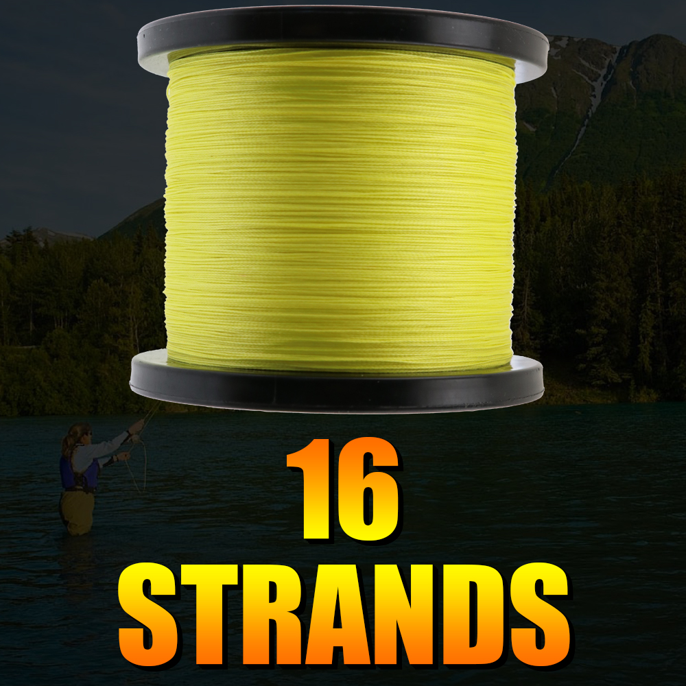 Japan multifilament pe fishing line braided 1000M hollowcore 20LBS-500LBS strength line 0.20mm-2.0mm super big game spooler wire