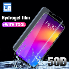 50D Soft Full Cover Hydrogel Screen Protector for Meizu M15 15 16 Plus Protector Film for Meizu Note8 X8 V8 Not Tempered Glass все цены