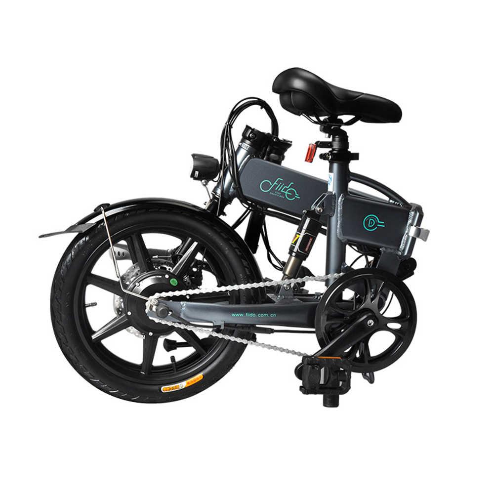 16 Cal rower górski składany Power Assist elektrycznego roweru motoroweru e-bike 250W bezszczotkowy silnik 36V 7.8AH