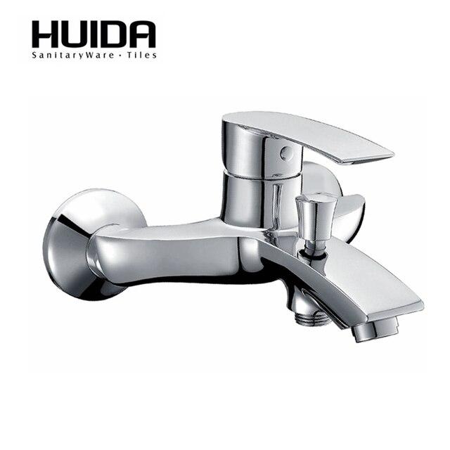 Huida Bathroom Wall Mount Bath Faucet Bathtub Faucet Parts Single