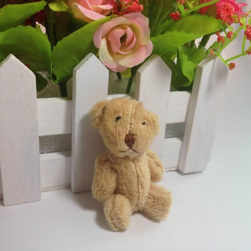 6cm long wool teddy bear (7)