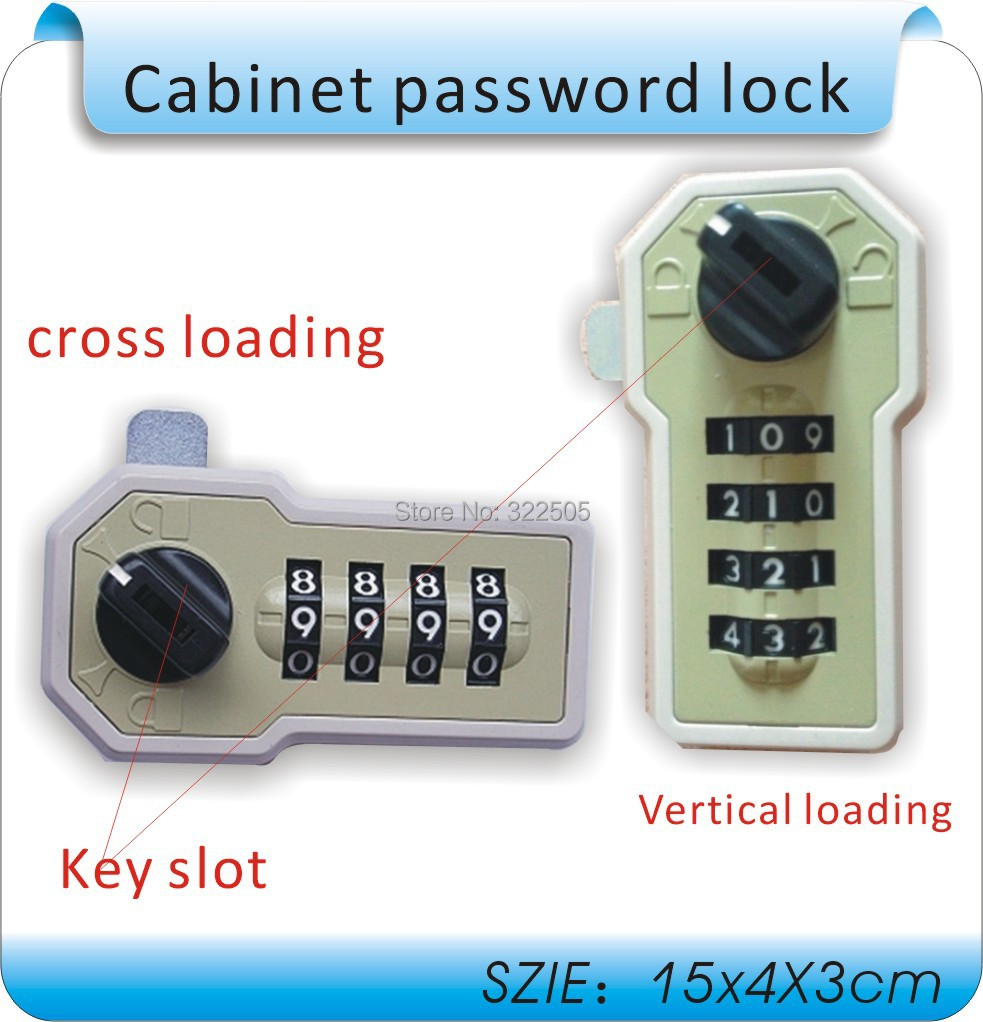 Free shipping The Newset mechanical MINI combination lock, password lock, machinery, no power supply