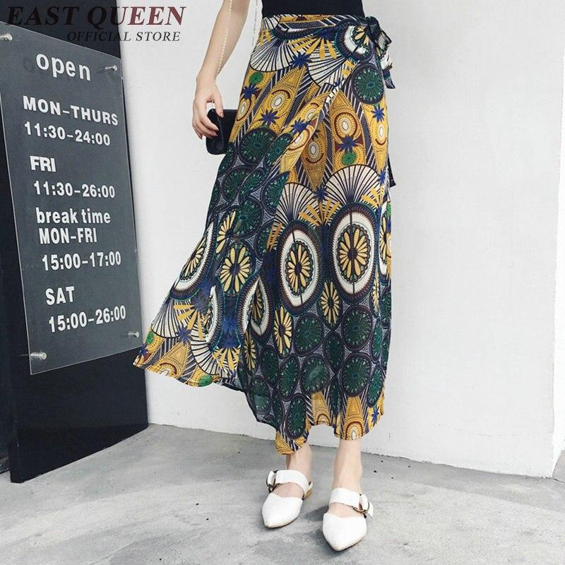 cb096f7ab € 18.03 45% de DESCUENTO|Falda estilo bohemio hippie 2018 ropa hippie  mujeres faldas bordadas mexicano AA2440 Y en Faldas de Ropa de mujer en ...