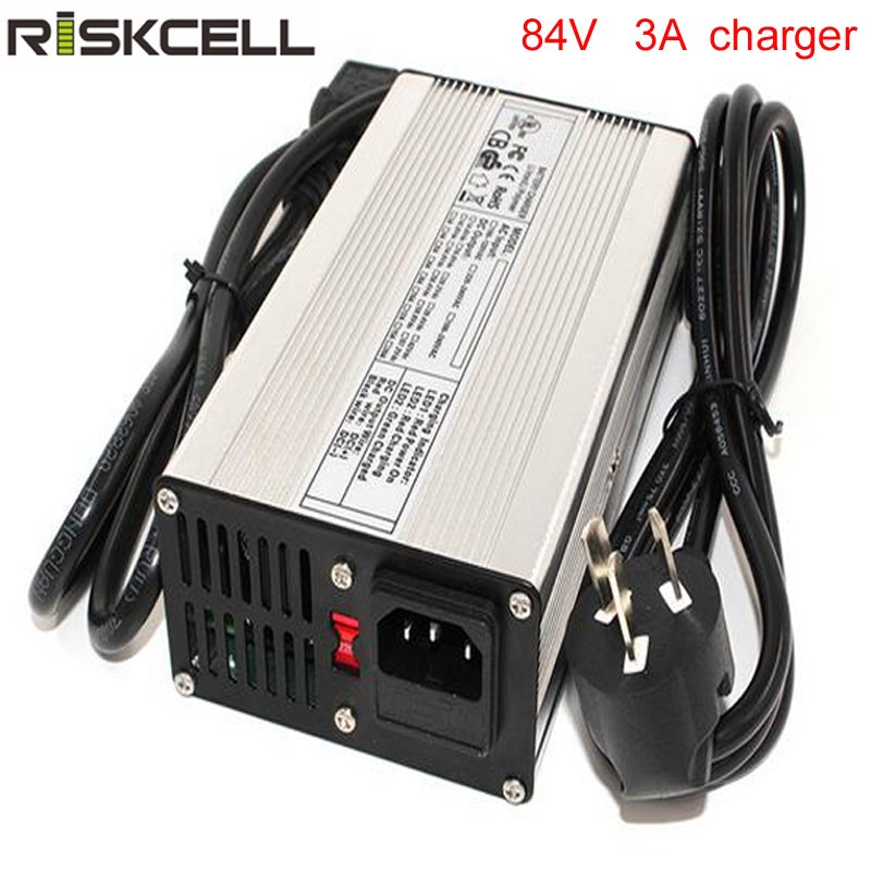 84V 3A lithium battery charger for 72V electric bike/electric scooter/gort cart/car 72v 1800w zuma electric car battery car electric vehicles electric motorcycle top with add length tb330905