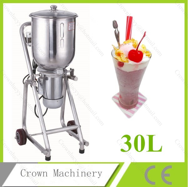 Electric Commercial 30l Ice Blender Ice Mixer Fruit