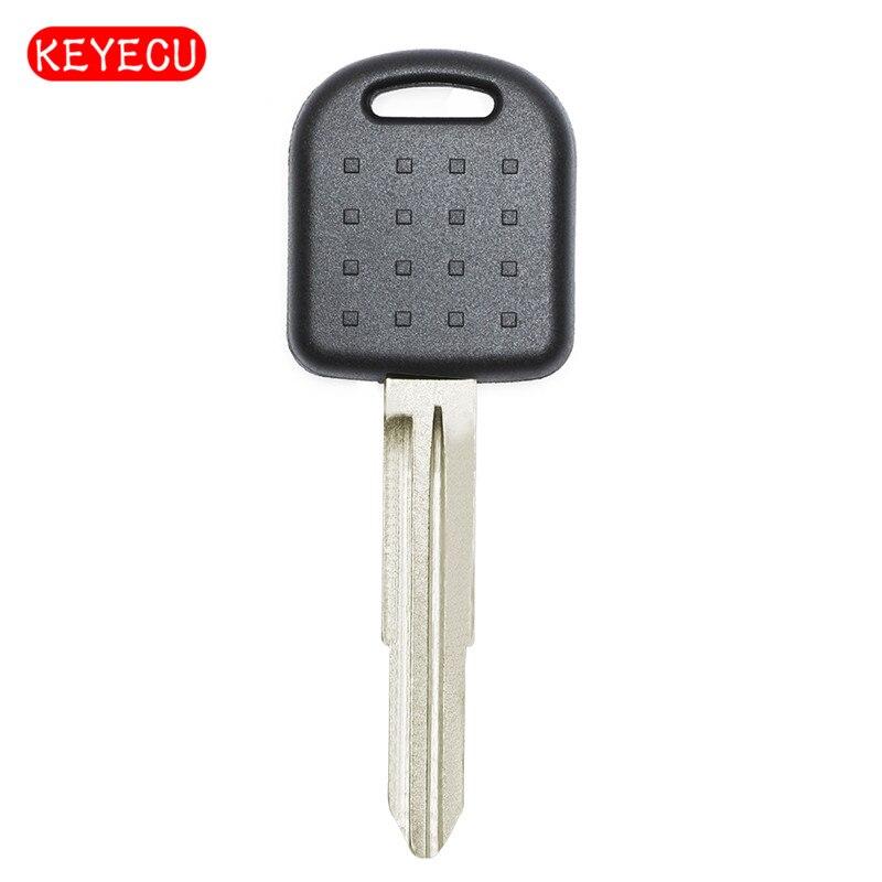 Keyecu Remplacement Transpondeur Clé Fob Avec Puce 4D65 pour Suzuki Alto Ignis Jimny Uncut Blank Lame Droite