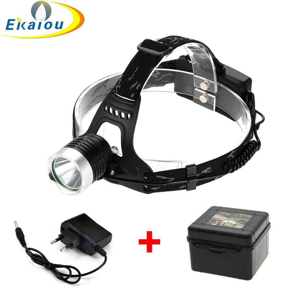 Hot T6 LED Farol de Bicicleta Luz 18650 Cabeça luzes 3800 Lumens Recarregável LEVOU Farol lanterna Tocha