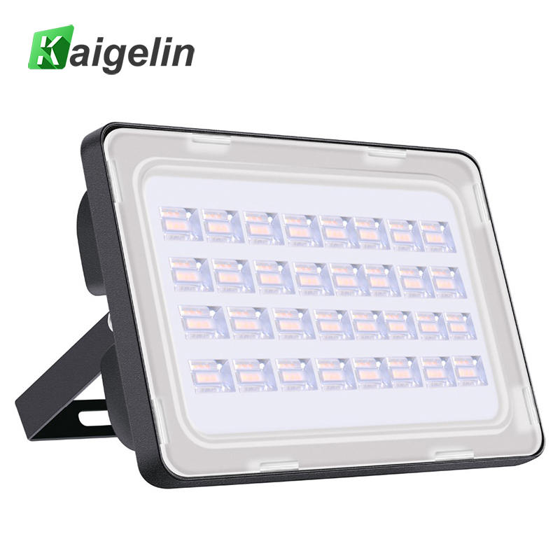 2 Pcs 100W LED Flood Light 220V-240V 12000LM SMD2835 128 LED IP67 Waterproof LED Floodlight For Outdoor Wall Garden Square 30% off 2pcs ultrathin led flood light 50w black ac85 265v waterproof ip66 floodlight spotlight outdoor lighting free shipping