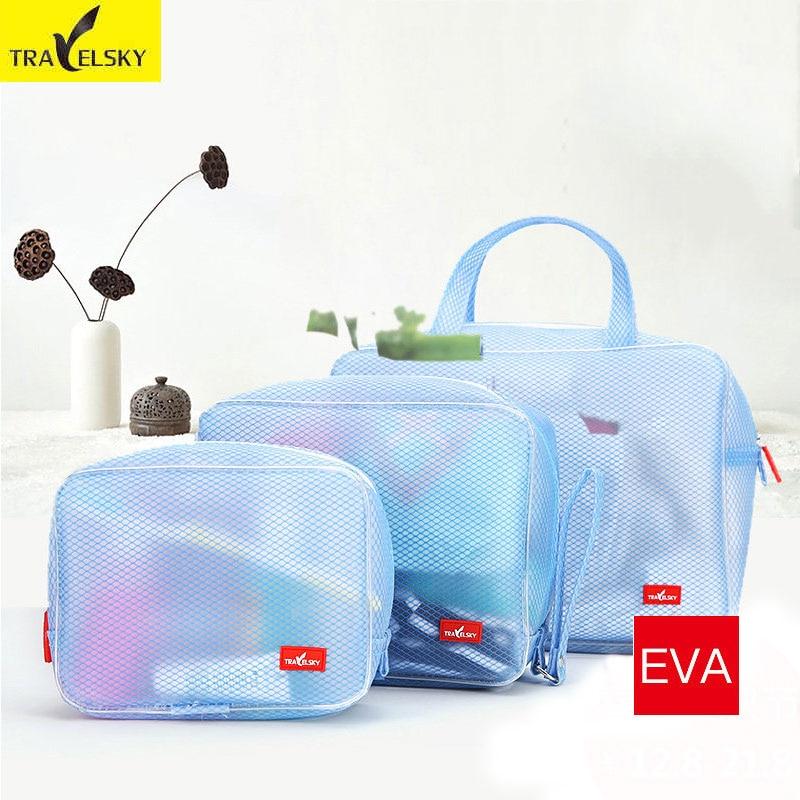 Travelsky Hot călătorie cosmetic sac Multifuncționale pentru femei - Organizarea și depozitarea în casă