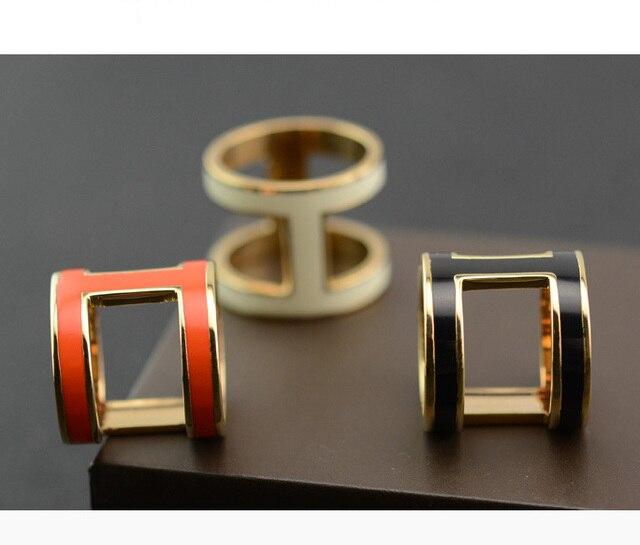 Boucle foulard en soie pour châle   Pendentif, collier, laiton Orange doré, surface artisanale glaçure, collier