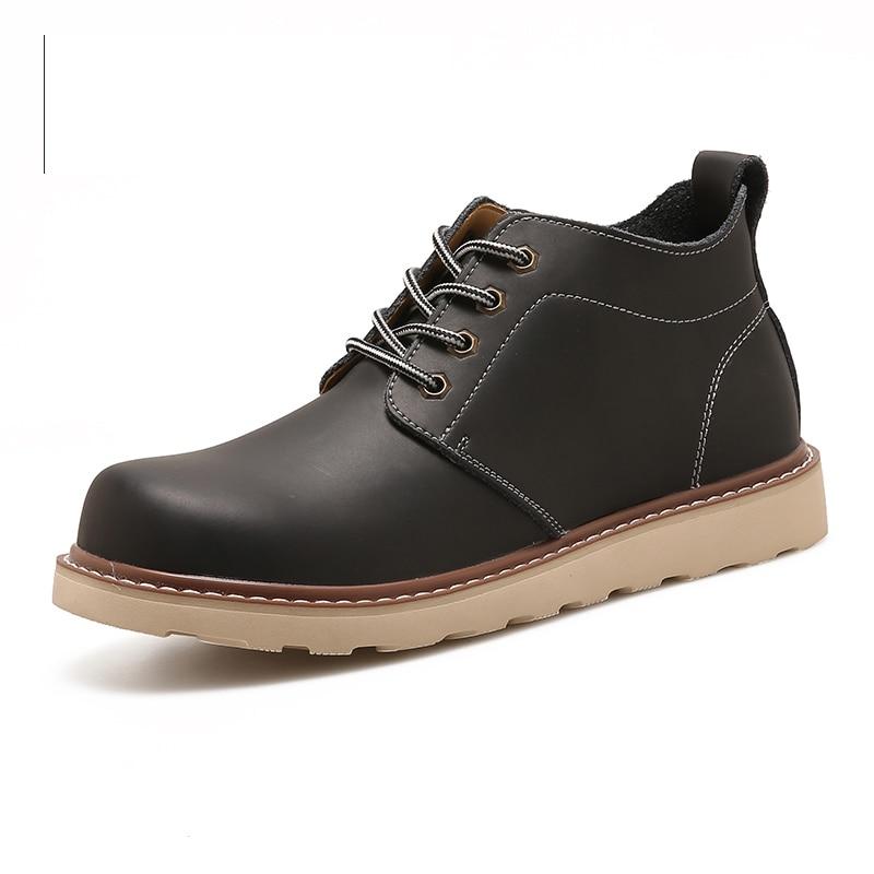 Belle Black Couleurs Cheville Dp Hommes brown Bottes 2 Chaussures Nouvelle Qualité 668 khaki En Casual Chukka Cuir Étanche Mode Outillage vfrTv