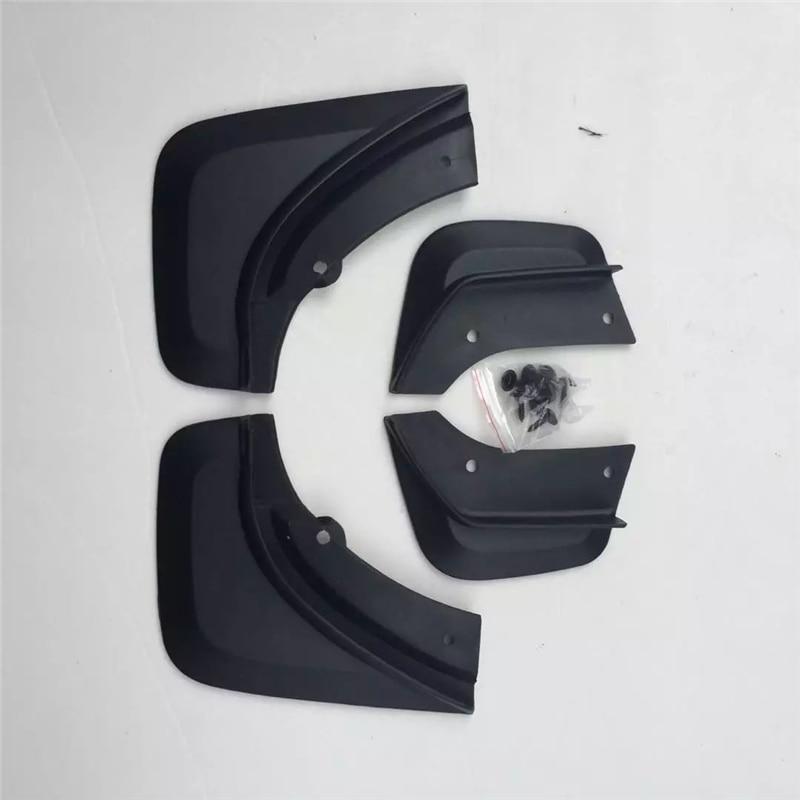pcsset mudguard fit  volvo  fender mud flaps set soft plastic splash guards special