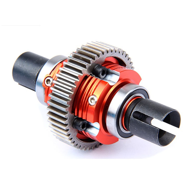 CNC Alloy Metal Gear Differential Assembled Diff Assembly for1/5 HPI Rovan Baja 5B 5T 5SC Rc Car PartsCNC Alloy Metal Gear Differential Assembled Diff Assembly for1/5 HPI Rovan Baja 5B 5T 5SC Rc Car Parts