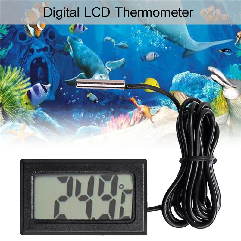 Home Brew Digital Numérique LCD Sonde intégrée Thermomètre réfrigérateur congélateur Keg Beer