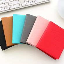 New Arrival Pure Color PU Leather Holds 64 Pieces Mini 3 Inch Photos Pictures Mini Photo Instax Album(China)