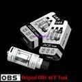 OBS originais ACE Tanque 4.5 ml com Cerâmica 0.85 Bobina Com OBS ACE Atomizador RBA Bobina para 510 Fio Da Bateria
