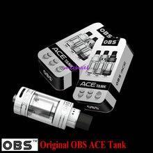 Original OBS ACE Tanque 4.5 ml con Cerámica 0.85 OBS Bobina Con RBA Coil ACE Atomizador 510 Hilo Batería
