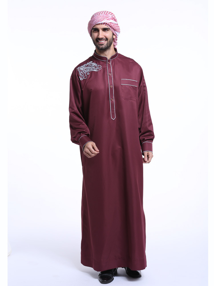 Islamic Mens Abaya Men Thobes Fashionable Adult New Products Sell Like Hot Cakes Malaysia Dress Code Mens Robes Hui Indian
