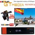 Gtmedia V8 Nova встроенный wifi DVB-S2 Freesat V8 супер спутниковый ТВ приемник gt media v8 nova рецептор с европейскими линиями на 1 год
