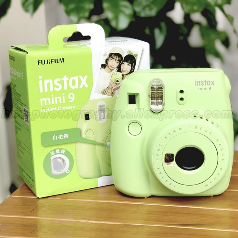 Fotocamera Istantanea FujiFilm Fuji Instax Mini 9 Smoky White