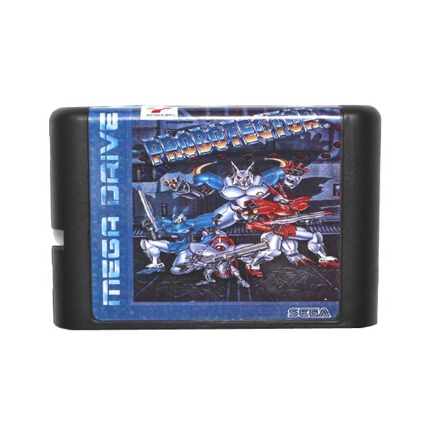 Sega MD game card – Probotector for 16 bit Sega MD game Cartridge Megadrive Genesis system