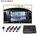 Free Shipping Video Parking sensor Visual Car Video Parking Sensor Reverse Backup Radar System Digital Display Step-up Alarm