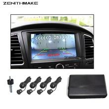 Free Shipping Video Parking sensor Visual Car Video Parking Sensor Reverse Backup Radar System Digital Display