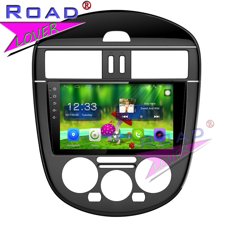 TOPNAVI Android 6.0 2G+32GB Quad Core Car Media Center Player For Nissan New Tiida 2011  ...