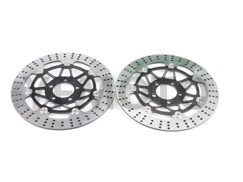 Motorcycle Front Brake Disc Rotor Brake Rotor For Kawasaki ZX-6R ZX6R ZR 750 C1-C5 Zephyr 92-95 ZR 750 D1 Zephyr Left 96-98